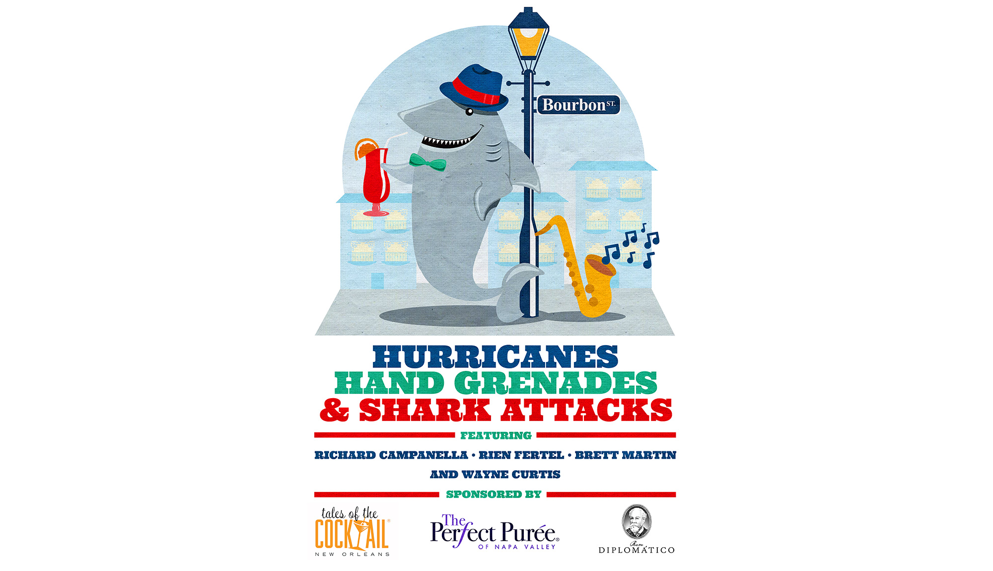 Hurricanes, Hand Grenades & Shark Attacks